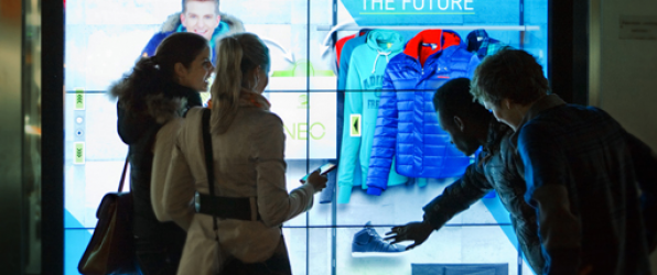 Adidas introduces interactive window shopping